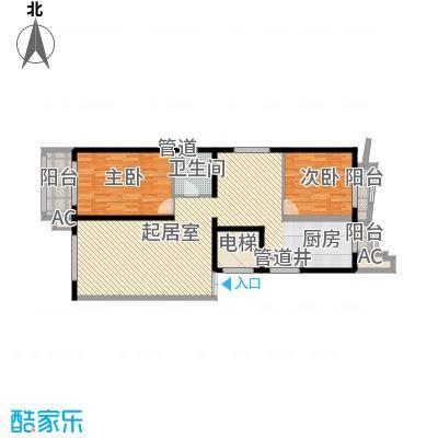 亚泰豪苑134.63㎡亚泰豪苑户型图2室2厅1卫户型10室