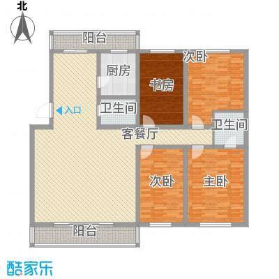 新宇富贵苑207.74㎡新宇富贵苑户型图4室2厅2卫1厨户型10室