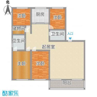 吉发广场C座239.00㎡吉发广场C座239.00㎡4室2厅2卫1厨户型4室2厅2卫1厨