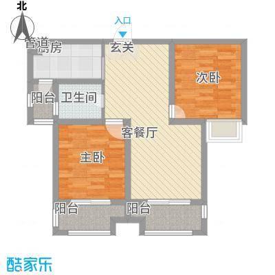桂花园89.00㎡桂花园户型图N户型2室2厅1卫1厨户型2室2厅1卫1厨