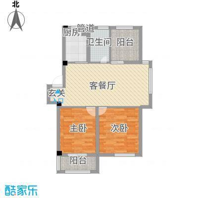 桂花园93.00㎡桂花园户型图E户型3室2厅1卫1厨户型3室2厅1卫1厨