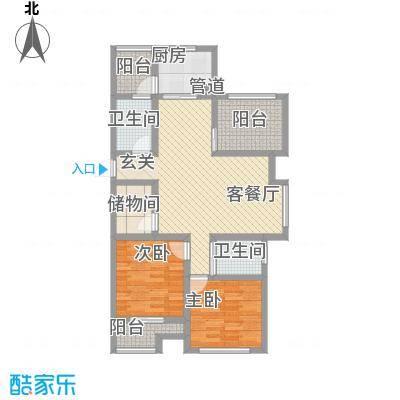 桂花园114.00㎡桂花园户型图Q户型3室2厅2卫1厨户型3室2厅2卫1厨