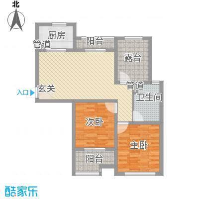 桂花园104.00㎡桂花园户型图P3室2厅1卫1厨户型3室2厅1卫1厨