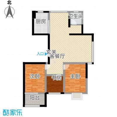 星鑫家园126.00㎡星鑫家园户型图3室2厅1卫1厨户型10室