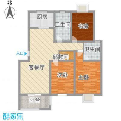 星鑫家园129.00㎡星鑫家园户型图3室2厅2卫1厨户型10室