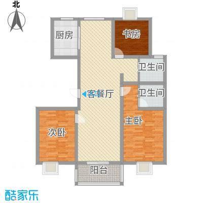 星鑫家园139.00㎡星鑫家园户型图3室2厅2卫1厨户型10室