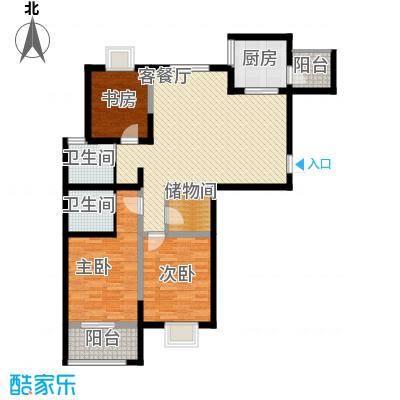 星鑫家园131.00㎡星鑫家园户型图3室2厅2卫1厨户型10室
