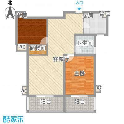 @时代爱特大厦113.69㎡@时代爱特大厦户型图E(1)3室户型3室