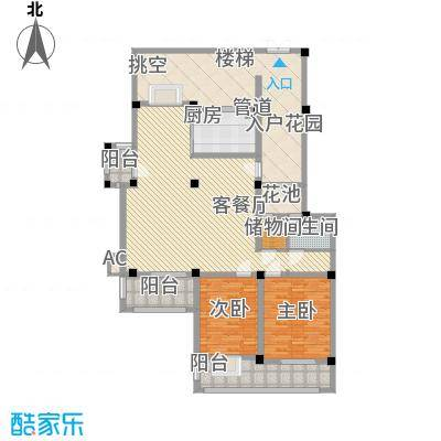 清潭南苑清潭南苑户型图h32室2厅2卫1厨户型2室2厅2卫1厨