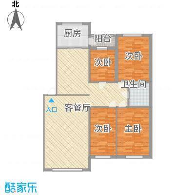 新嘉坡城141.69㎡新嘉坡城户型图3室2厅2卫户型10室