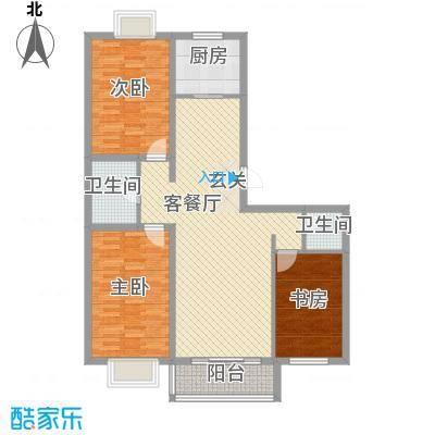 西中华小区西中华小区3室2厅户型10室