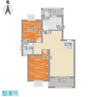 上南花城101.00㎡上海上南花城户型10室