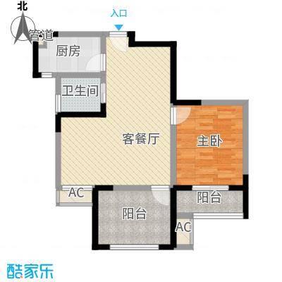 永宁雅苑87.08㎡小户型2室2厅1卫1厨