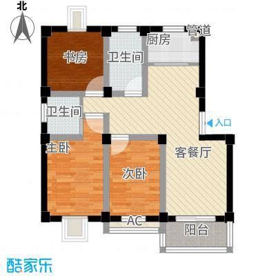 桃园新村80.00㎡桃园新村2室户型2室