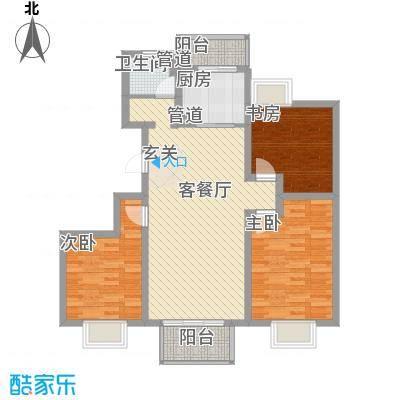 翠园世家113.00㎡翠园世家户型图A33室2厅1卫1厨户型3室2厅1卫1厨