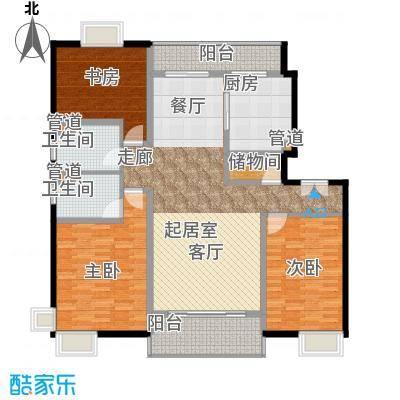 中邦风雅颂149.83㎡上海中邦风雅颂户型10室