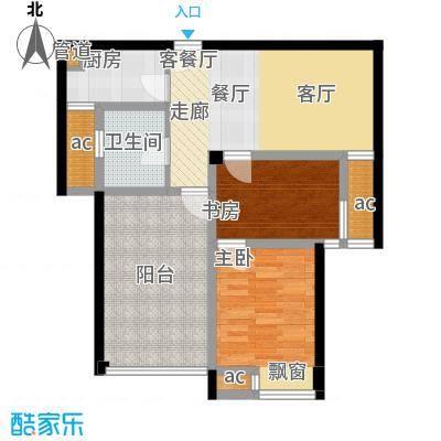 东城明居90.60㎡东城明居户型图B-13室2厅1卫1厨户型3室2厅1卫1厨