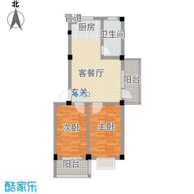 翠苑公寓80.00㎡翠苑公寓2室户型2室