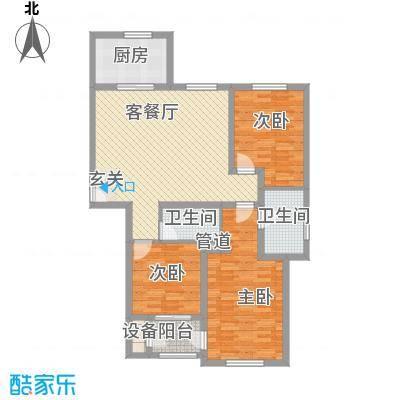 北环续建北环续建3室2厅1厨1卫1阳户型3室2厅1卫1厨