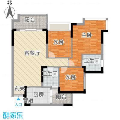 人民家园人民家园户型图h43室2厅2卫1厨户型3室2厅2卫1厨