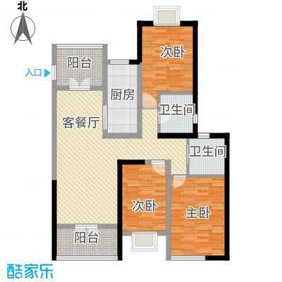 人民家园129.00㎡人民家园3室户型3室