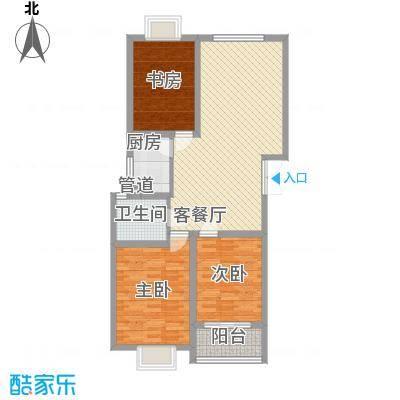 中意宝第113.64㎡中意宝第户型图户型图3室2厅1卫1厨户型3室2厅1卫1厨