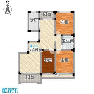 芦墅星苑119.77㎡C户型3室2厅1卫1厨