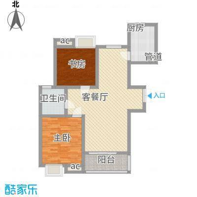 阳湖名城104.00㎡Gc户型2室2厅1卫1厨