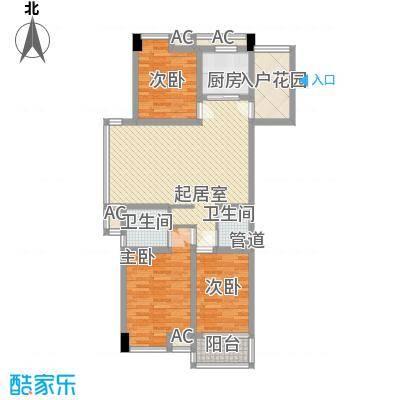 喜盈门123.00㎡喜盈门户型图3室2厅2卫1厨户型10室