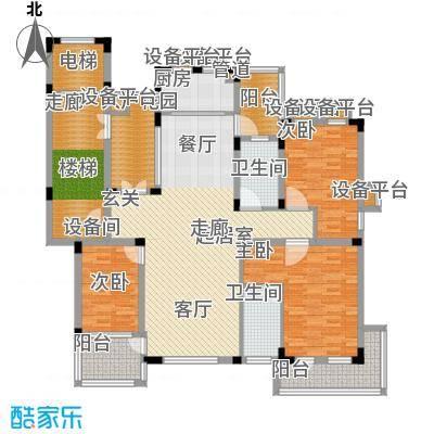 力旺塞歌维亚156.52㎡新品户型3室2厅2卫