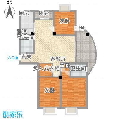 勤德家园145.00㎡勤德家园户型10室