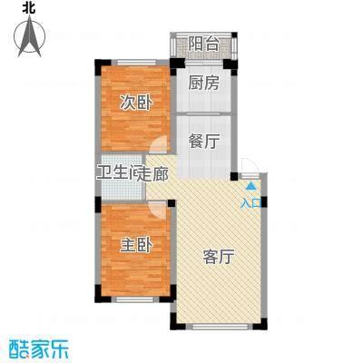 轩泽硅谷壹号88.00㎡轩泽硅谷壹号户型图88平方米D4户型图2室2厅1卫1厨户型2室2厅1卫1厨