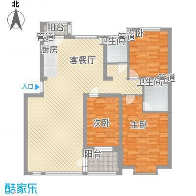 松原奥林匹克花园145.00㎡松原奥林匹克花园户型图D户型图3室2厅2卫1厨户型3室2厅2卫1厨