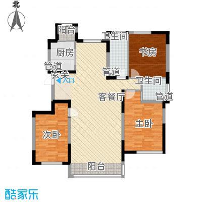 一品红城五期135.00㎡一品红城五期户型图B户型图3室2厅2卫1厨户型3室2厅2卫1厨