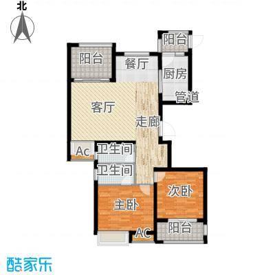 荣盛馨河郦舍115.00㎡荣盛馨河郦舍户型图J户型3室2厅2卫1厨户型3室2厅2卫1厨
