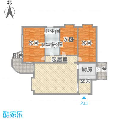 晨光花园165.30㎡晨光花园户型图3室1厅2卫1厨户型10室