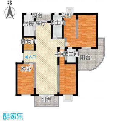 水木年华177.06㎡水木年华户型图4室2厅2卫1厨户型10室