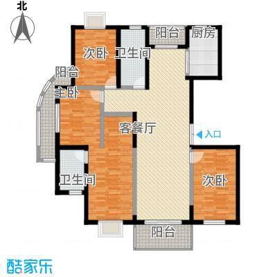 水木年华152.07㎡水木年华户型图4室2厅2卫1厨户型10室