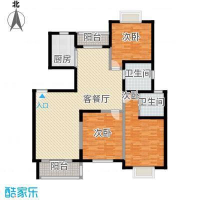 水木年华135.99㎡水木年华户型图3室2厅2卫1厨户型10室