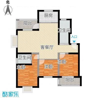 水木年华135.94㎡水木年华户型图3室2厅2卫1厨户型10室