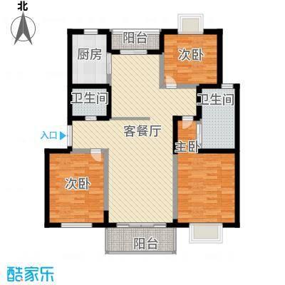 水木年华132.69㎡水木年华户型图3室2厅2卫1厨户型10室