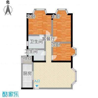 太湖花园太湖花园户型图h4户型10室