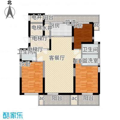 华亭苑华亭苑户型图A3室2厅2卫1厨户型3室2厅2卫1厨
