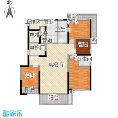 华亭苑华亭苑户型图I4室2厅2卫1厨户型4室2厅2卫1厨
