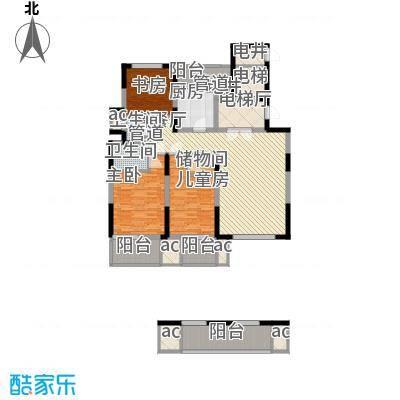 华亭苑华亭苑户型图B3室2厅2卫1厨户型3室2厅2卫1厨