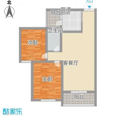 前桥小区前桥小区2室2厅1卫1厨户型2室2厅1卫1厨