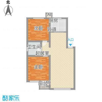 维多利亚庄园88.00㎡维多利亚庄园2室户型2室