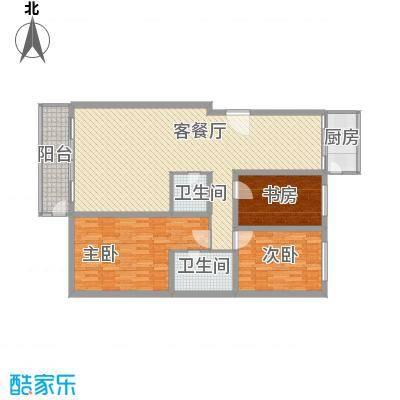 金碧家园148.52㎡金碧家园户型图3室2厅2卫1厨户型10室