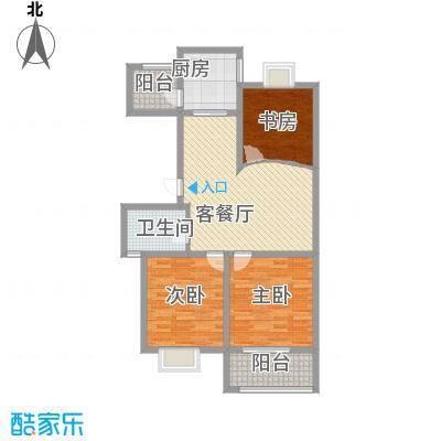 星鑫家园112.00㎡星鑫家园户型图3室2厅1卫1厨户型10室