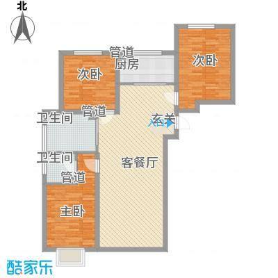 天裕小区天裕小区户型图3室2厅13室2厅1卫1厨户型3室2厅1卫1厨